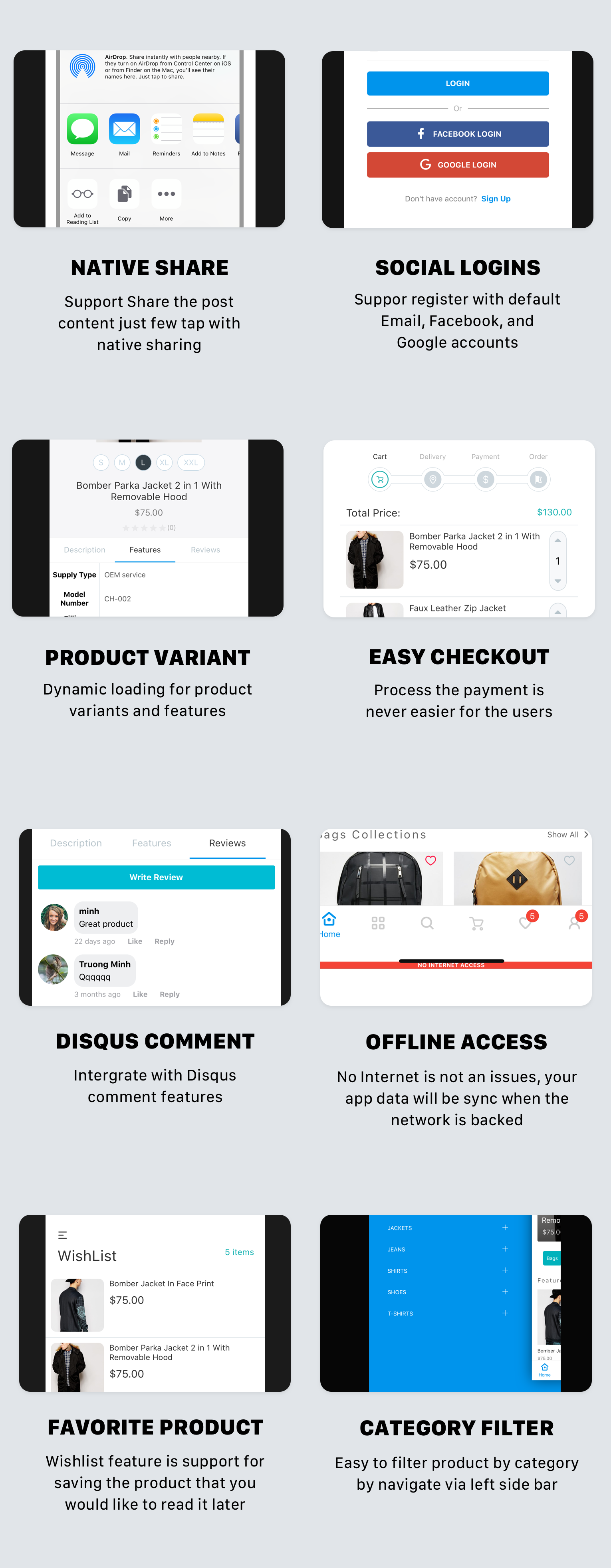 CeStore – ReactJS web app & React Native mobile app for e-commerce