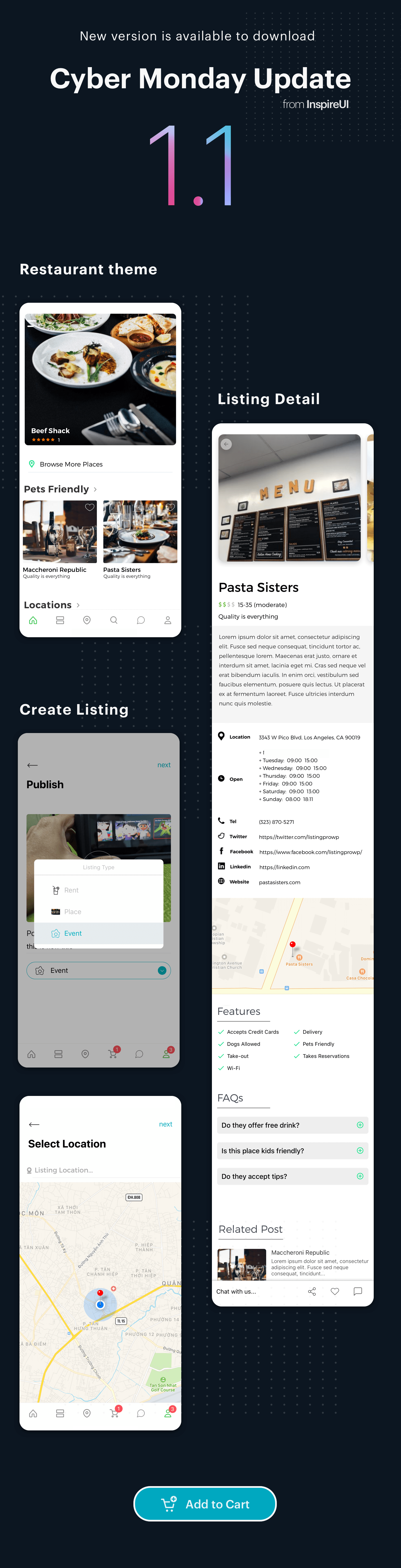 ListPro - Listing Directory React Native template - 4