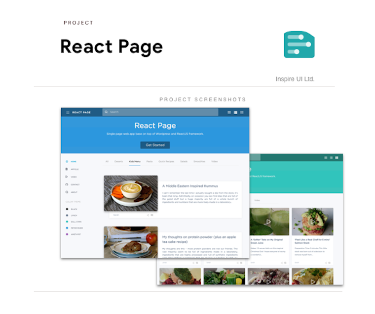 ReactPage